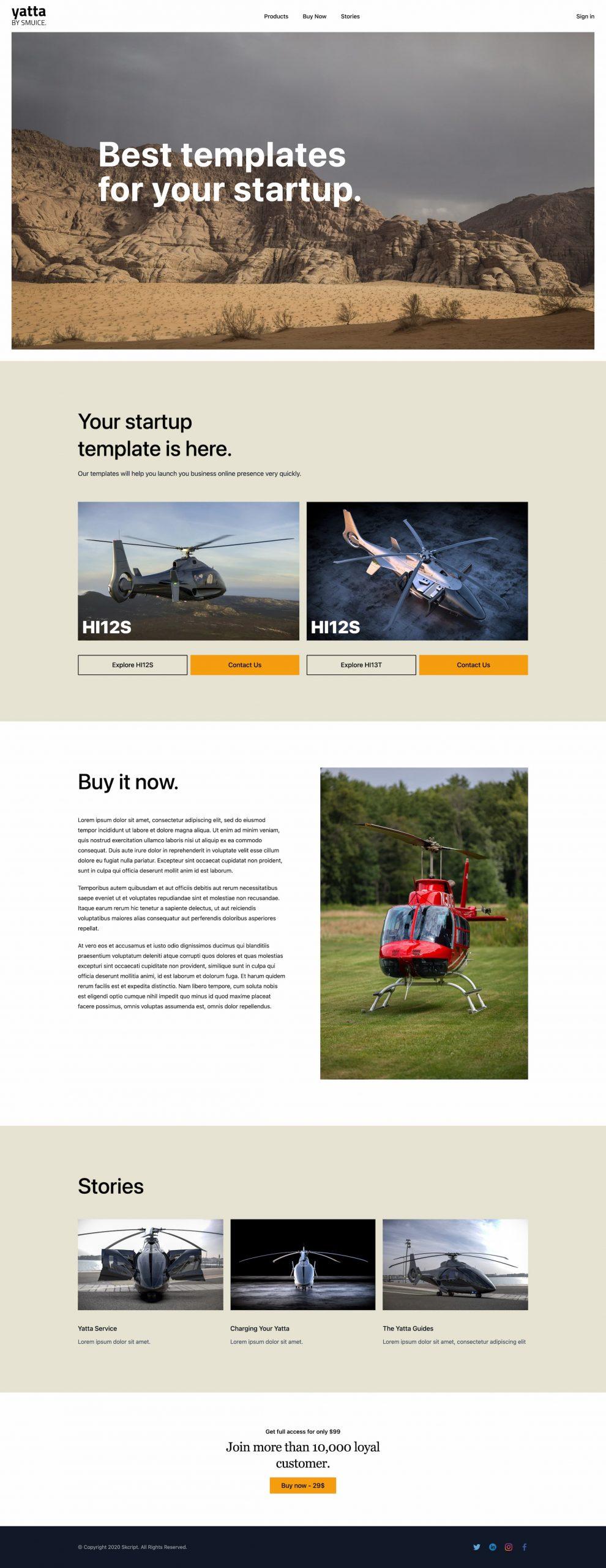 yatta-smuice-template-landing-page